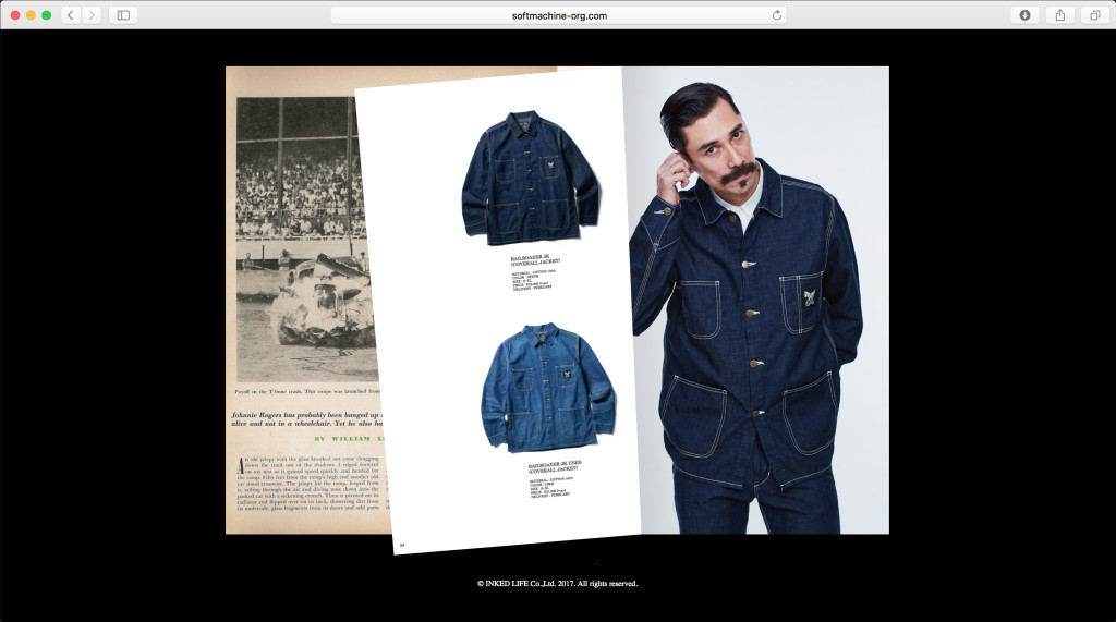 SOFTMACHINE 2018 SPRING & SUMMER Web Catalog