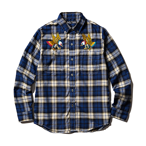 EAGLES FLANNEL