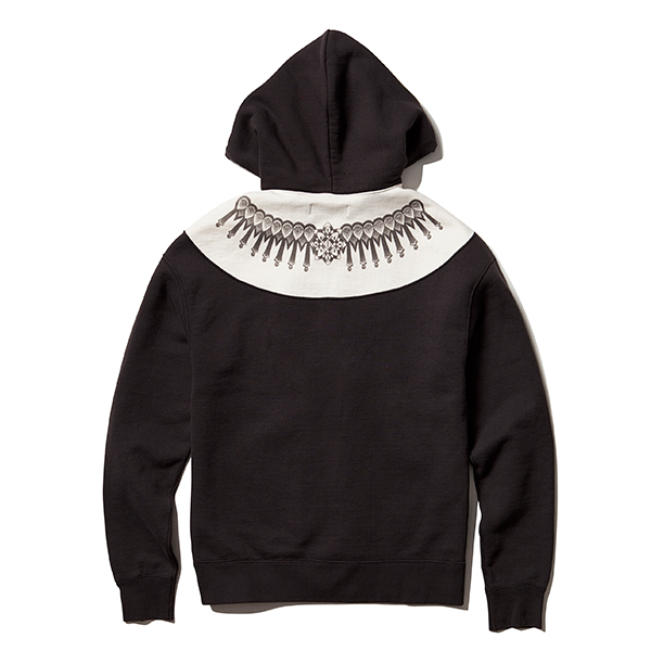 GEOMETRIC HOODED