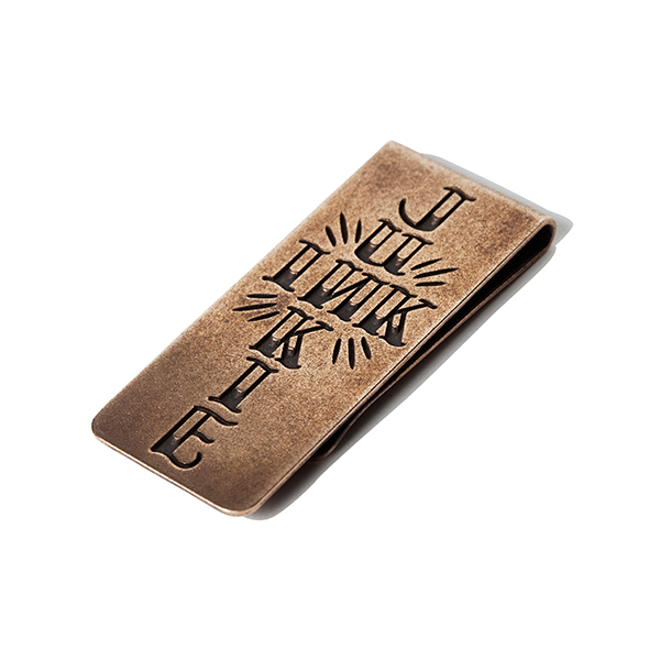 INK JUNKIE MONEY CLIP