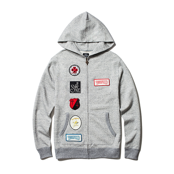 MEDALS HOODED