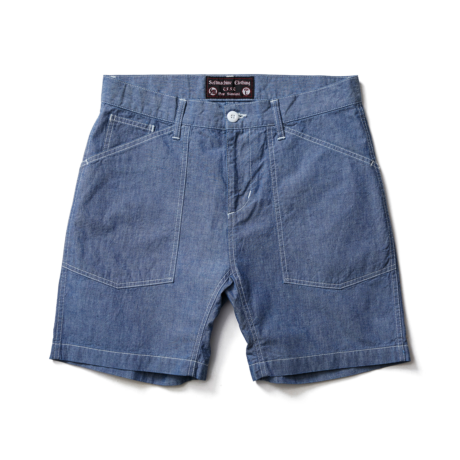 SMITH CHAMBRAY SHORTS