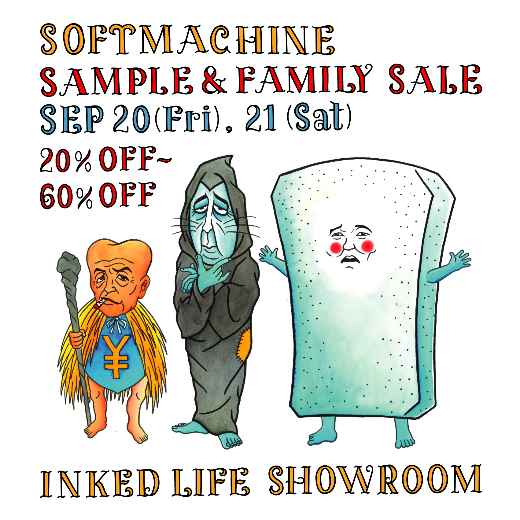 SOFTMACHINE SAMPLE & FAMILY SALE