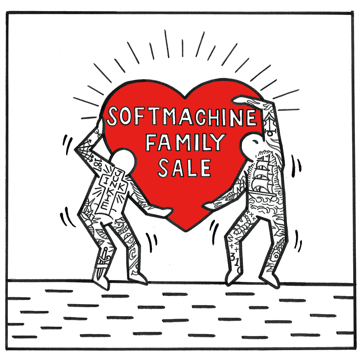SOFTMACHINE FAMILY SALE BANNER
