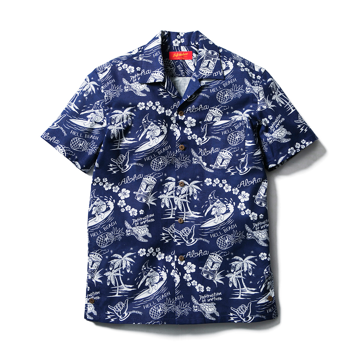 HELL BEACH SHIRTS S/S