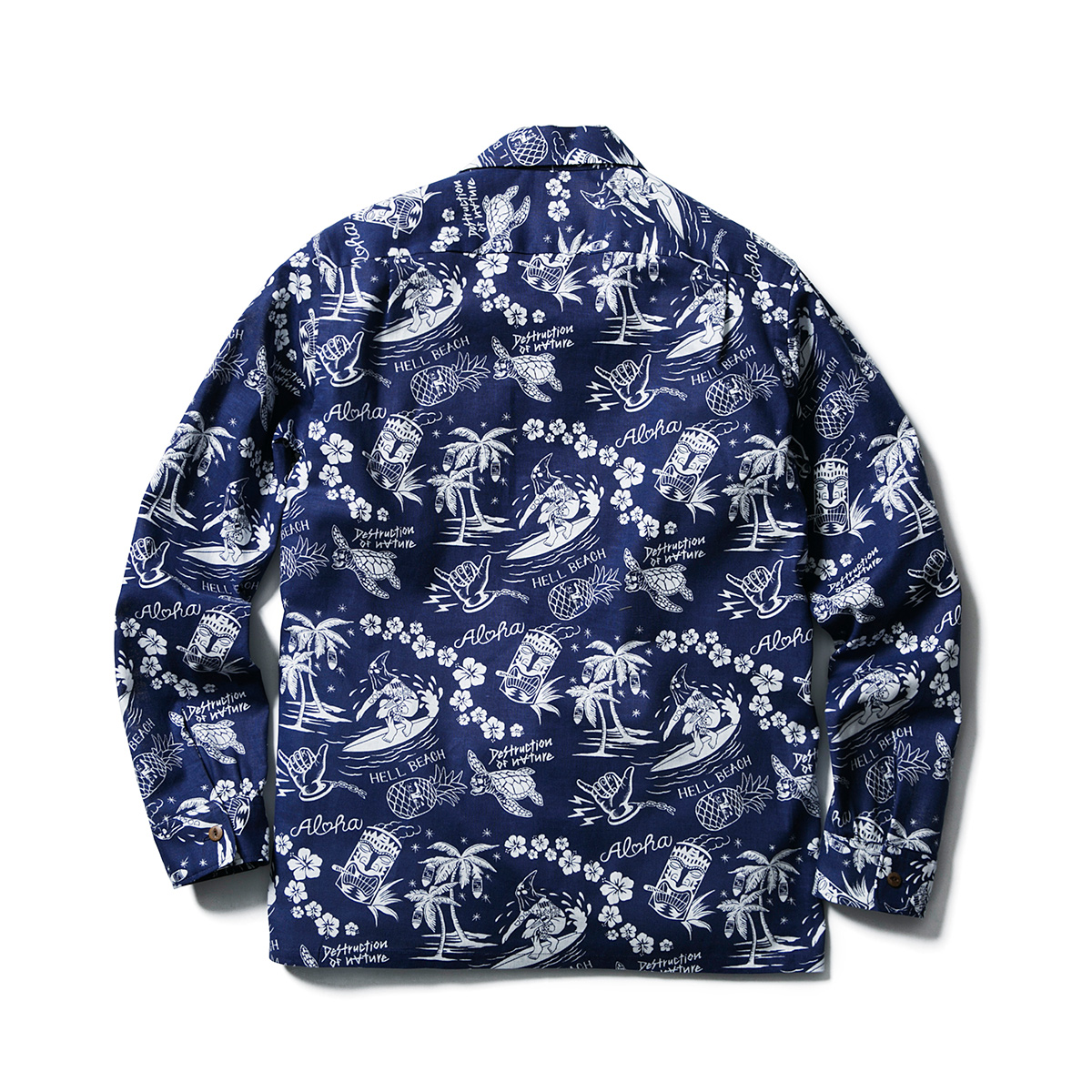 HELL BEACH SHIRTS L/S