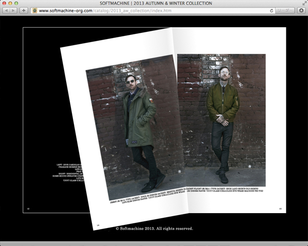 2013 A/W Collection Web Catalog